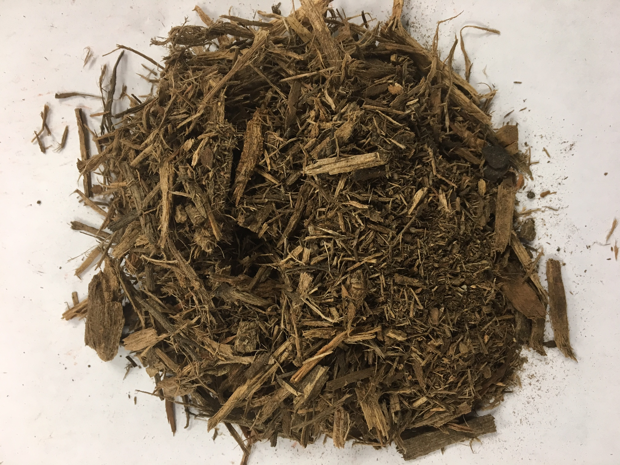 Double Ground Natural Color Hardwood Mulch